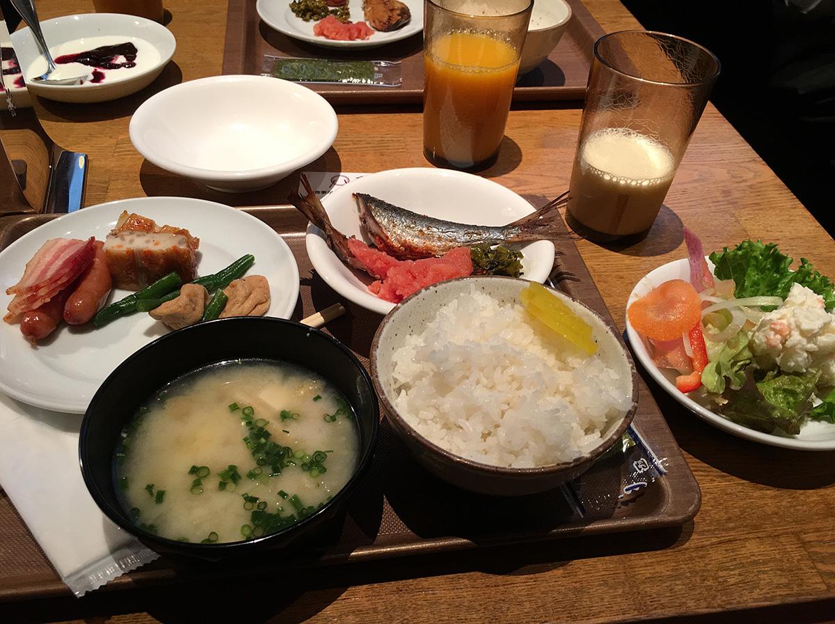 リッチモンドホテル 福岡天神 朝食バイキング
