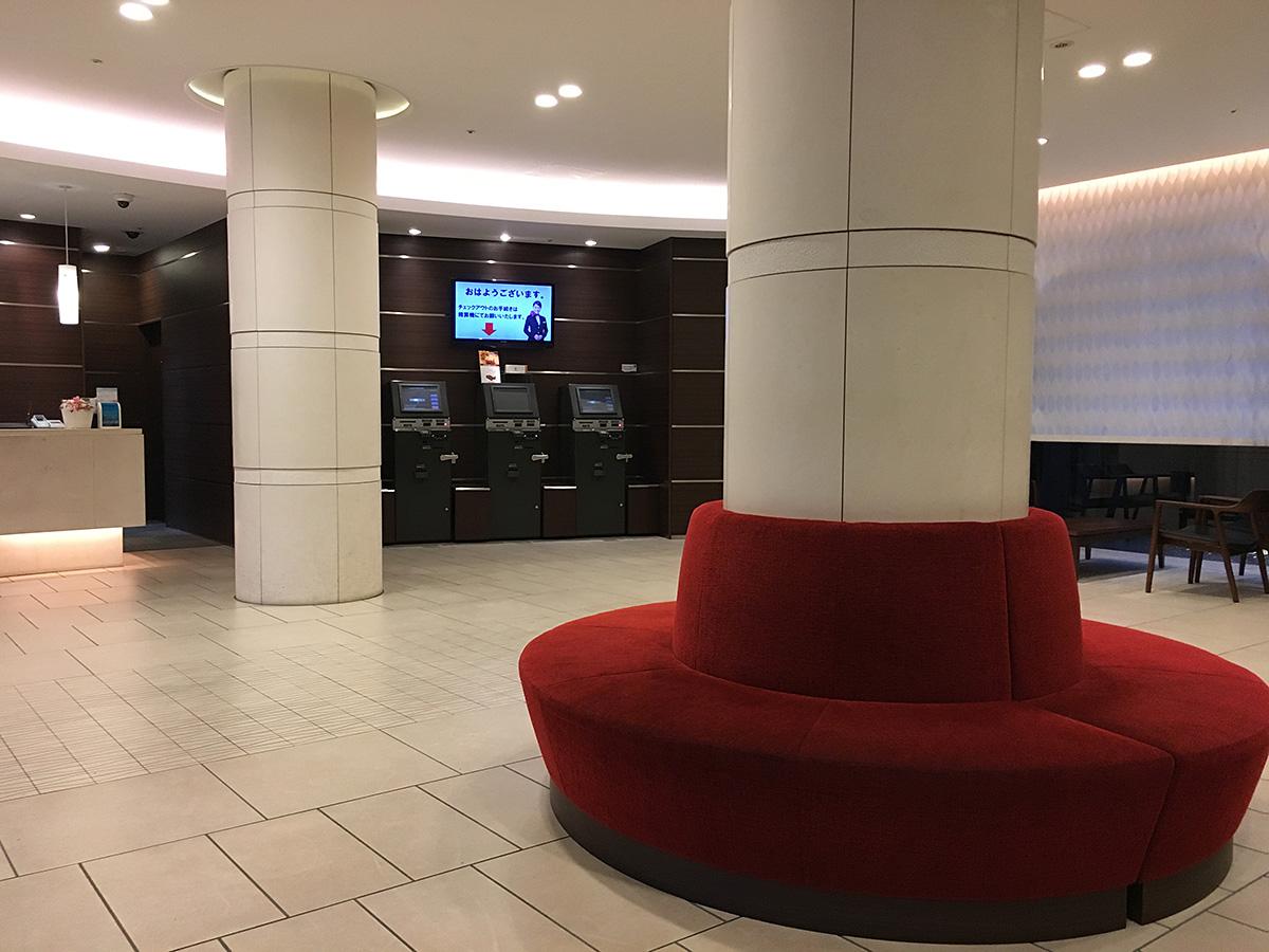 リッチモンドホテル 福岡天神 フロント
