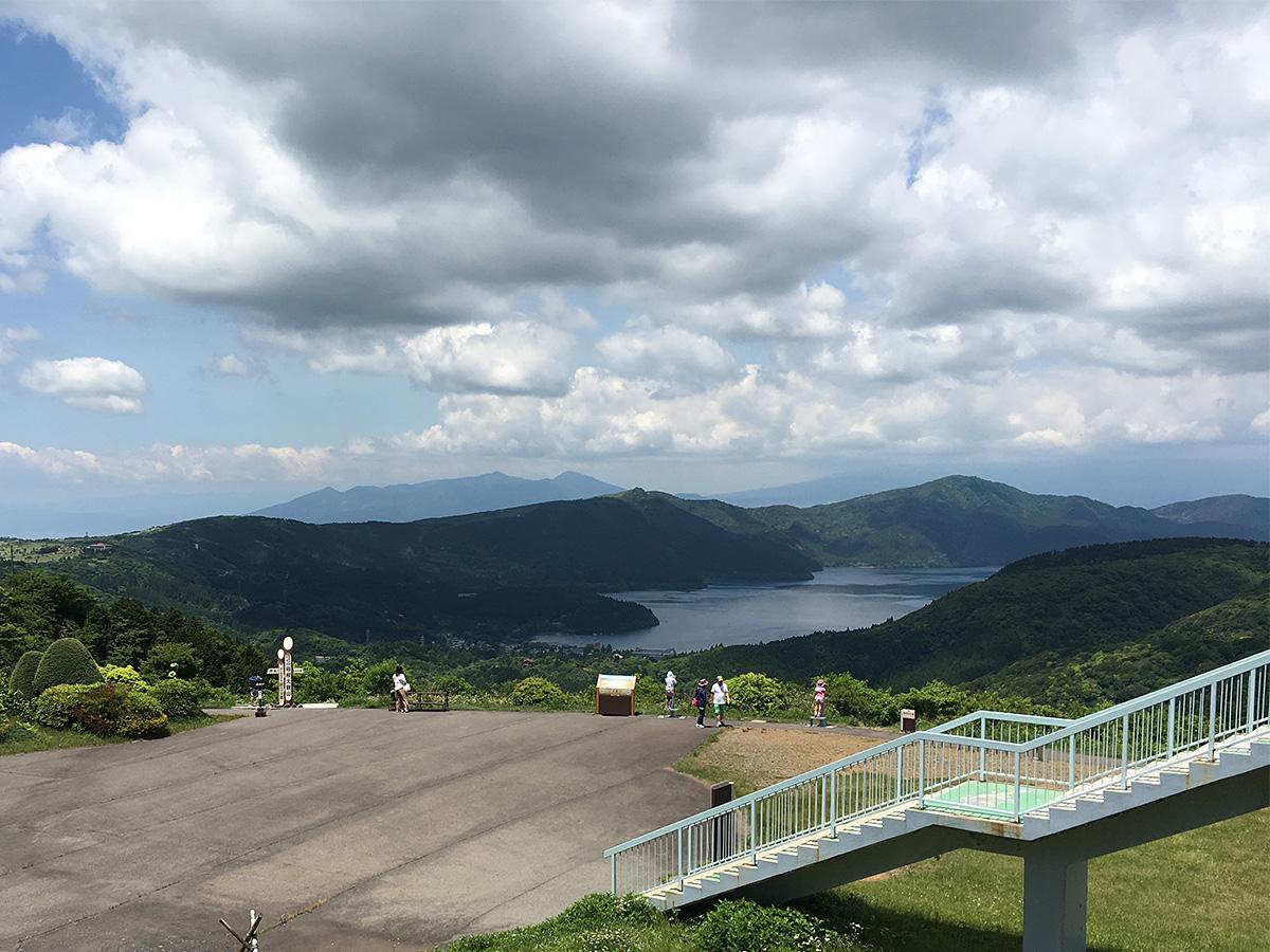 大観山展望台